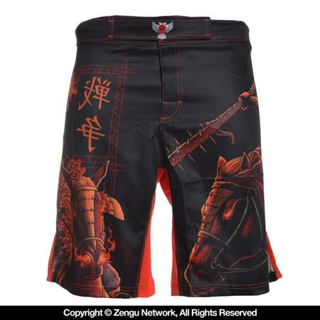 Raven War Fight Shorts